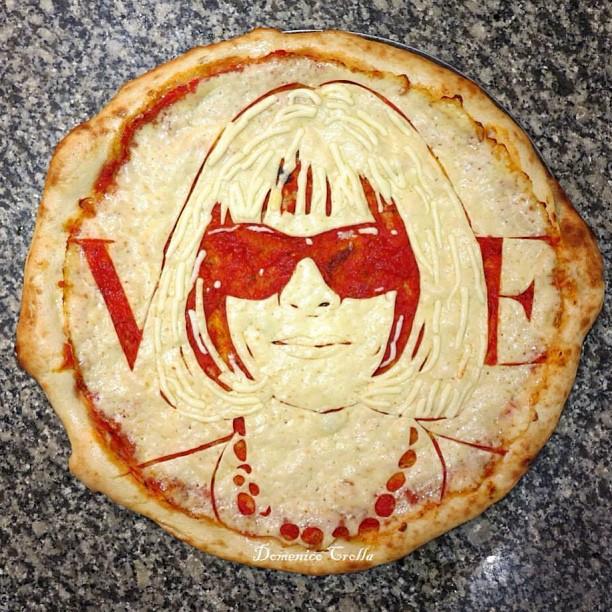 anna wintour, vogue, pizza