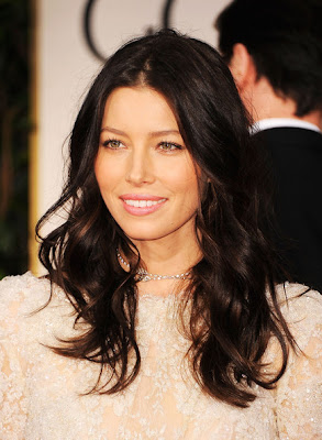 Jessica Biel Long Wavy Cut Hairstyle Lookbook