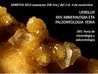 XXV Feria de Minerales de Urretxu