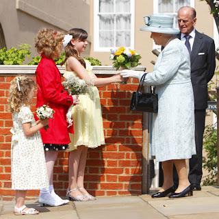 Celebrity Easter  with Queen Elizbeth & Prince Phillip