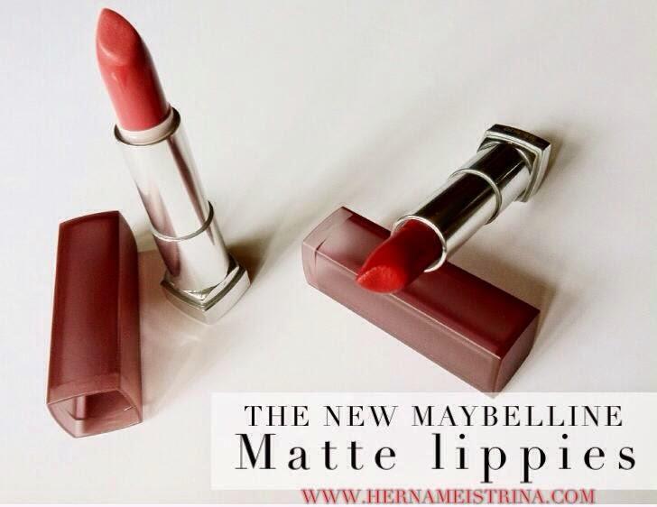 Maybelline Sensational Lipstick Matte Maybelline Matte Lipstick