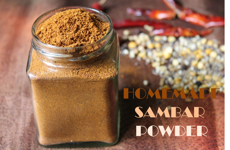 how to make sambar powder in malayalam