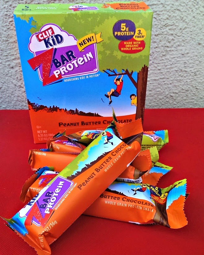 CLIF Kid ZBar Protein organic snacks