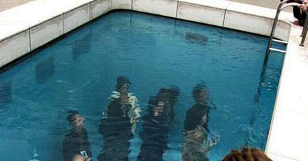 The Swimming Pool Illusion By Leandro Erlich Round The Web Info Photography And Tricks
