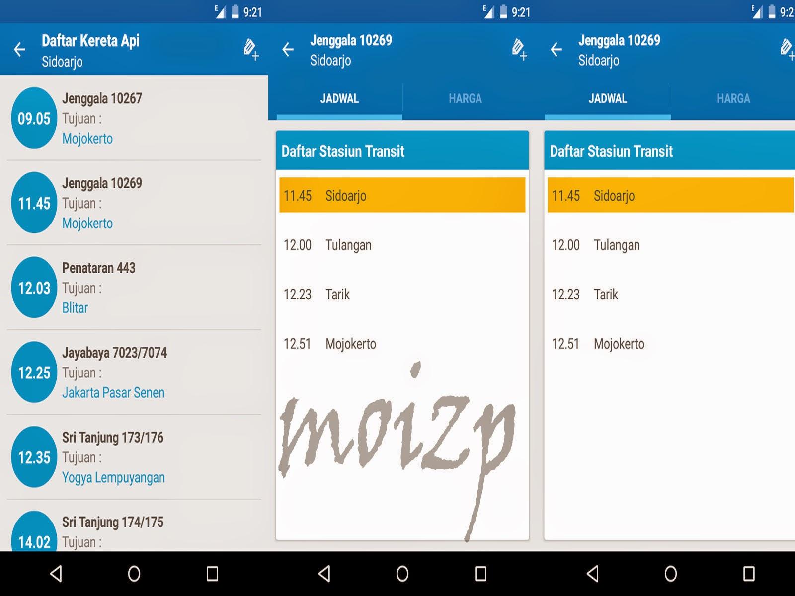 Aplikasi Jadwal KA Indonesia