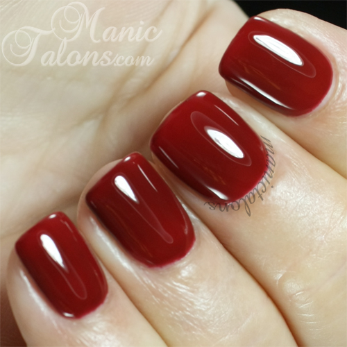 Madam Glam Gel Polish #227 Deep Burgundy Swatch