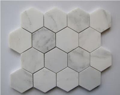 Hexagon fliser