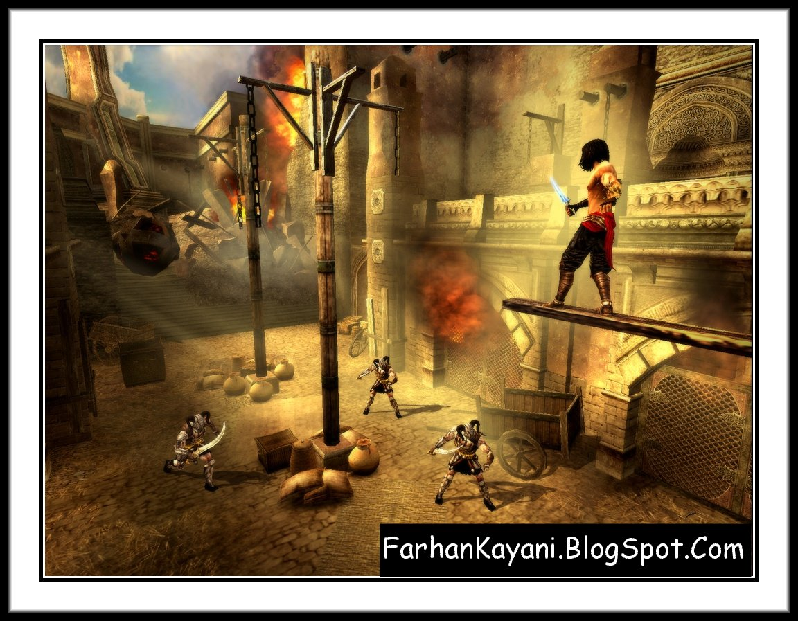 Prince Of Persia 3 The Two Thrones Free Download (Screenshot) No.2 By Farhan Kayani