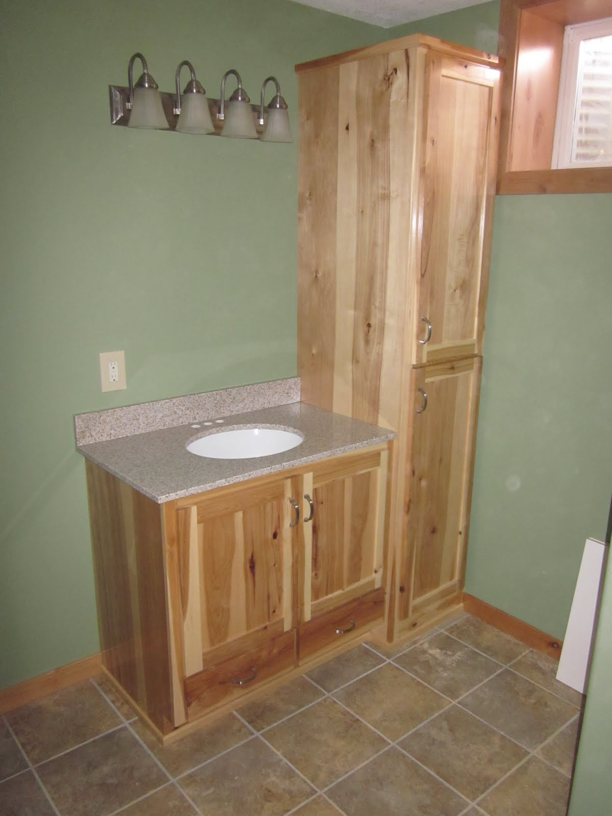 walker mn these are natural rustic hickory mission style cabinets