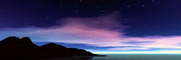 Анимация звездного неба в Bryce 3D