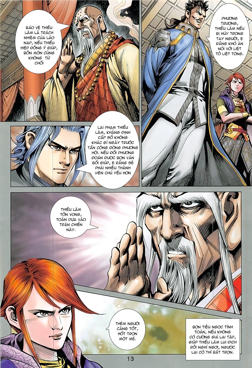 Thần Chưởng trang 13