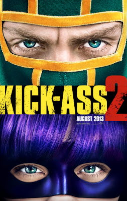 kick-ass 2, poster,capes on film