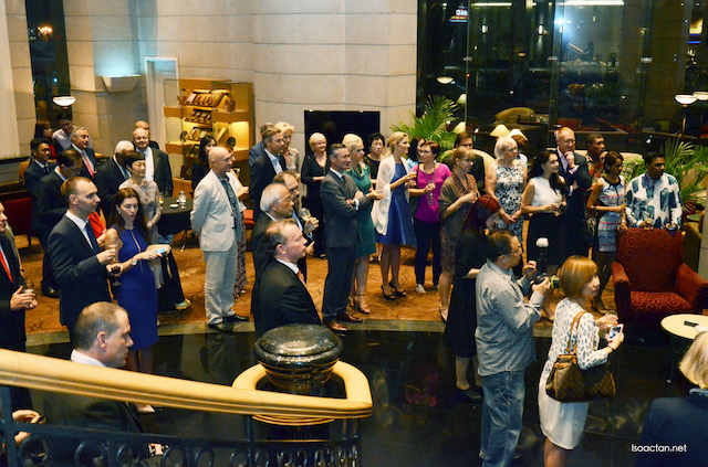 Guests at the launch of the Czech Culinary Experience