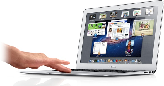 Macbook air retina display