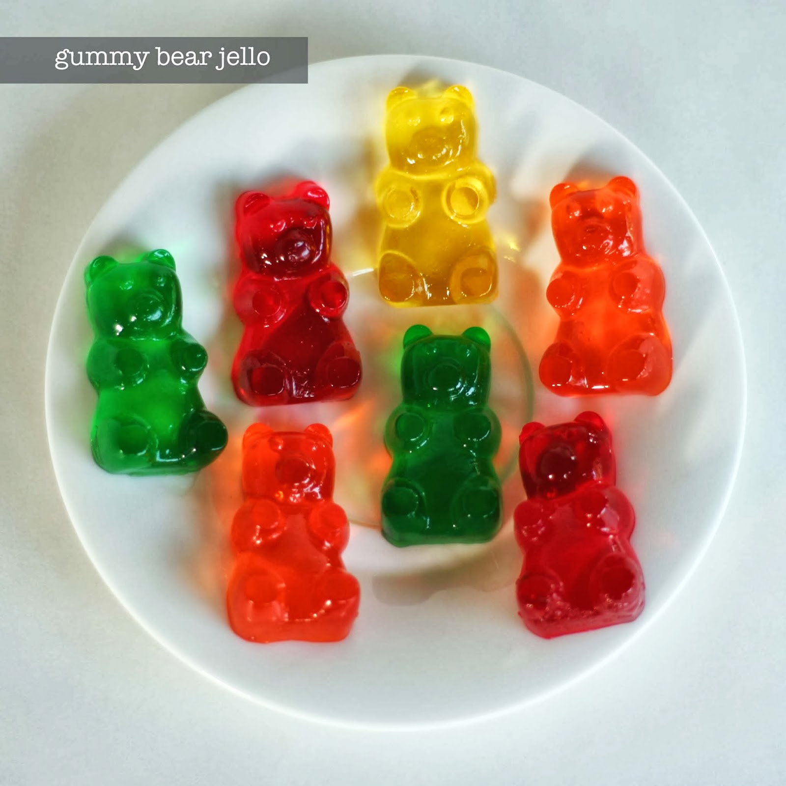 Party // Gummy Bears!