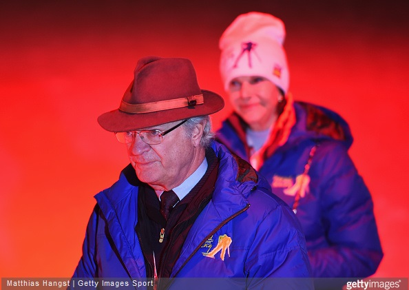 King Carl XVI Gustaf of Sweden and Queen Silvia of Sweden, Crown Princess Victoria of Sweden, Prince Carl Philip of Sweden and Sofia Hellkvist