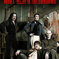 Poster What We Do in the Shadows 2014