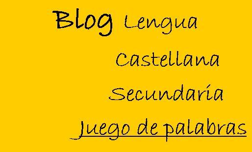 Blog Lengua Castellana
