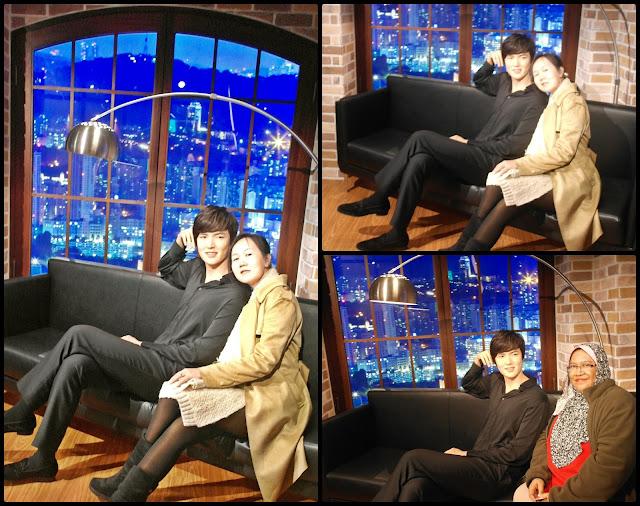 Lee Min Ho (이민호) at Hallyuwood Grevin Seoul | www.meheartseoul.blogspot.com