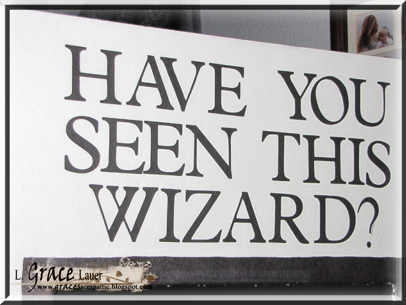 Uniquely Grace Prisoner of Azkaban Wanted Poster Photo Booth – Wanted Poster Letters