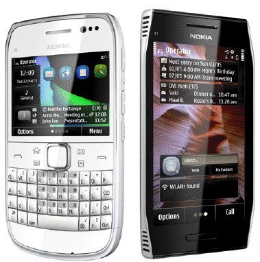 Τα δύο νέα smartphones της nokia, τα πρώτα στα