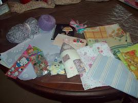 Los regalitos que recibì de Marta Isabel.
