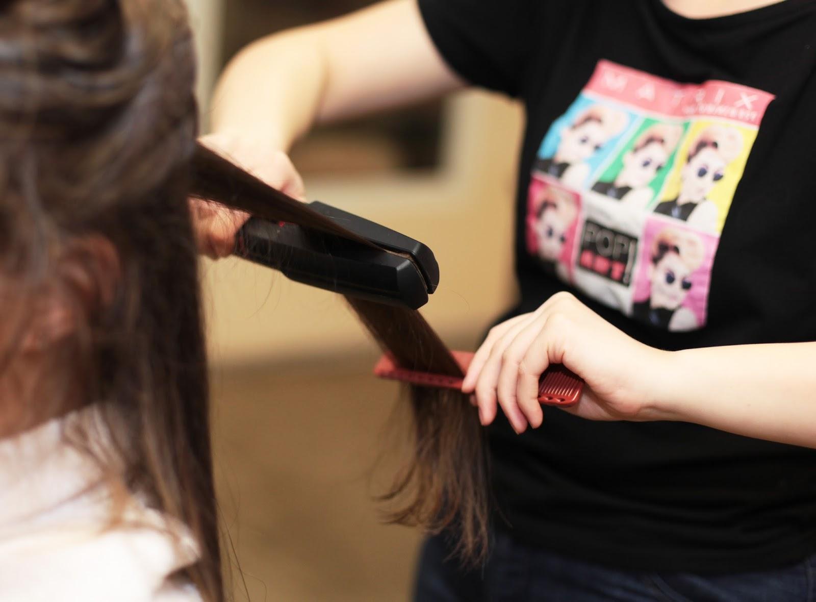 3D ламинирование от MATRIX, длинные волосы, отзывы.