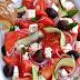 Wassermelonen-Salat mit Feta oder heute bleibt die Küche kalt...