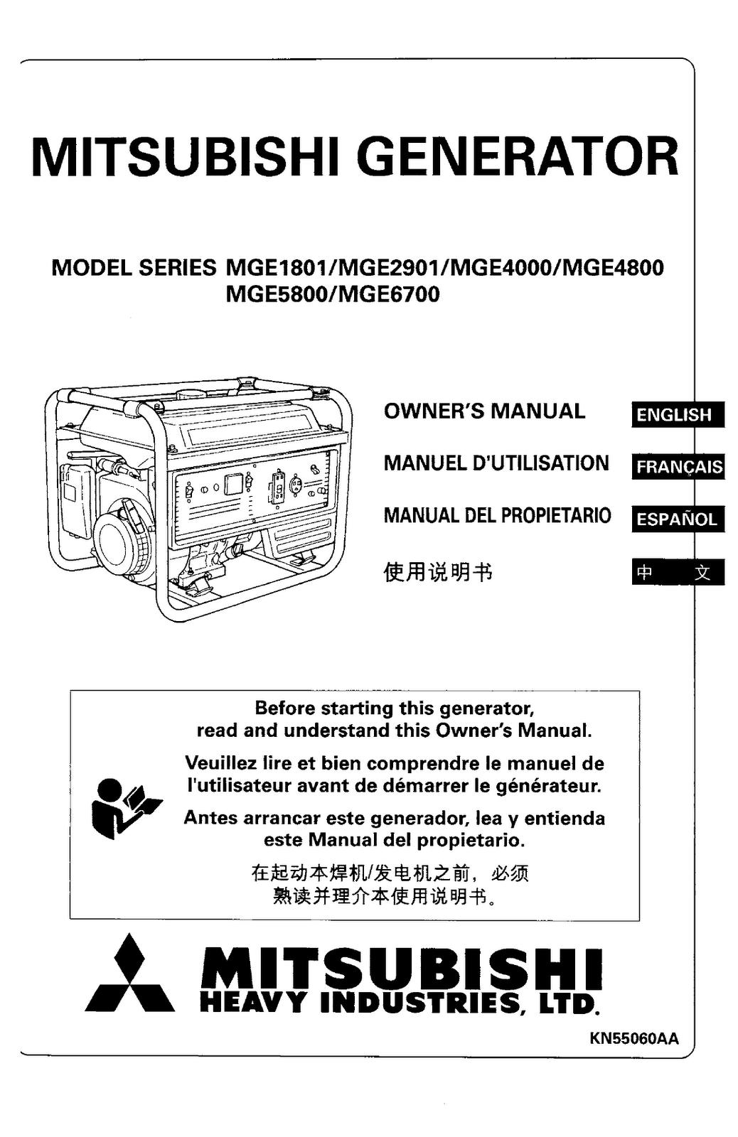 mitsubishi manuals free mitsubishi generator owners manual pdf
