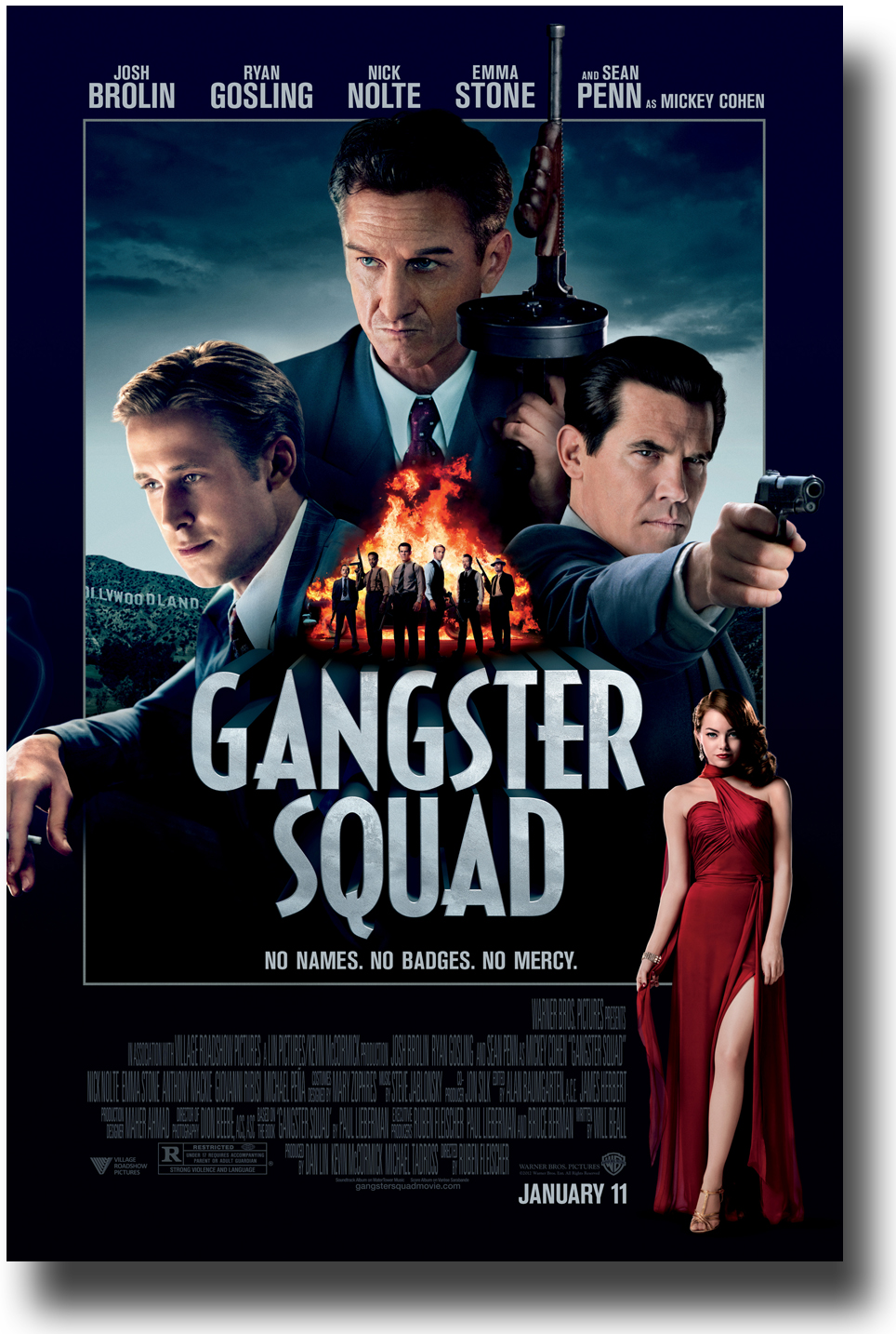 Fred Said: MOVIES: Gangster Squad