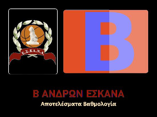 Β΄ ΑΝΔΡΩΝ 15Η ΑΓΩΝΙΣΤΙΚΗ