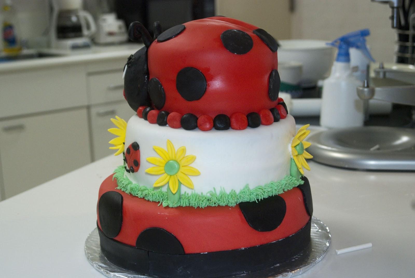 michelle 39 s cakes ladybug baby shower cake