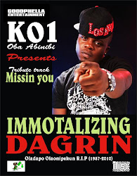 New  Music :  K01-IMMORTALIZIN DAGRIN (Missin u)
