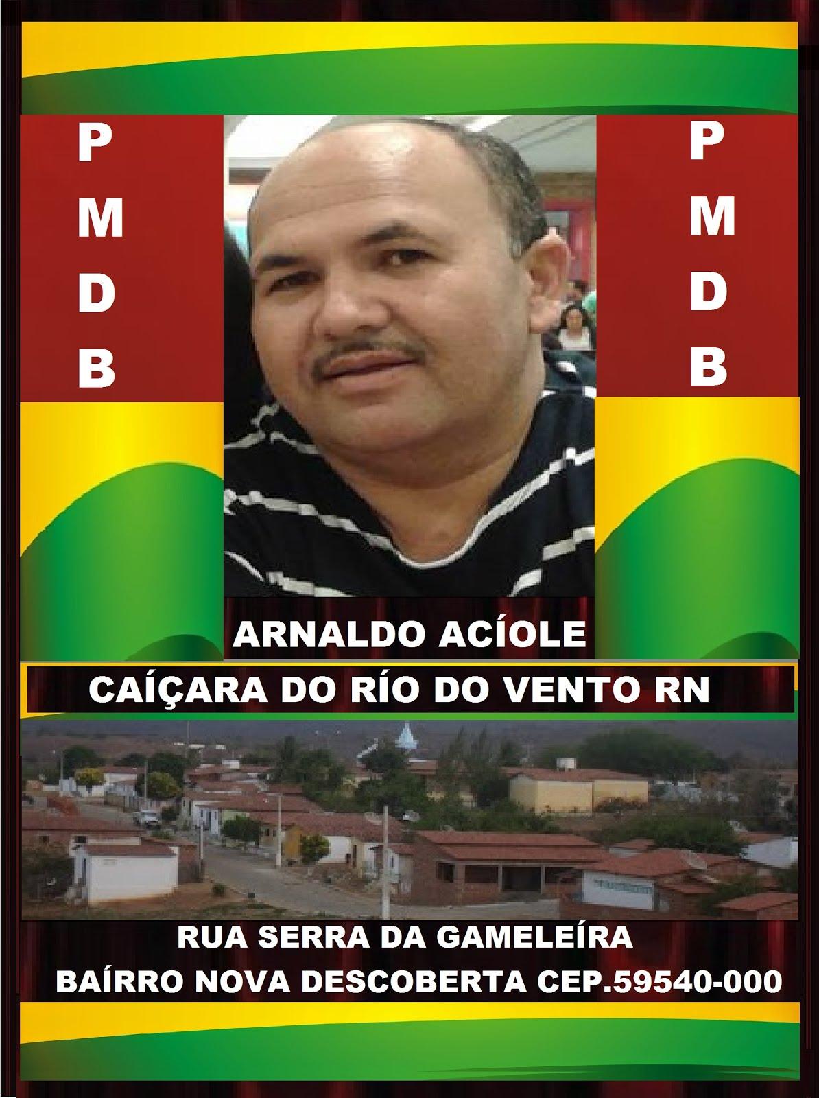 ARNALDO ACIOLE CAÍÇARA DO RÍO DO VENTO.RN
