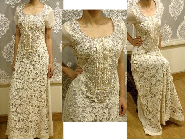 Latest party wear winter dresses