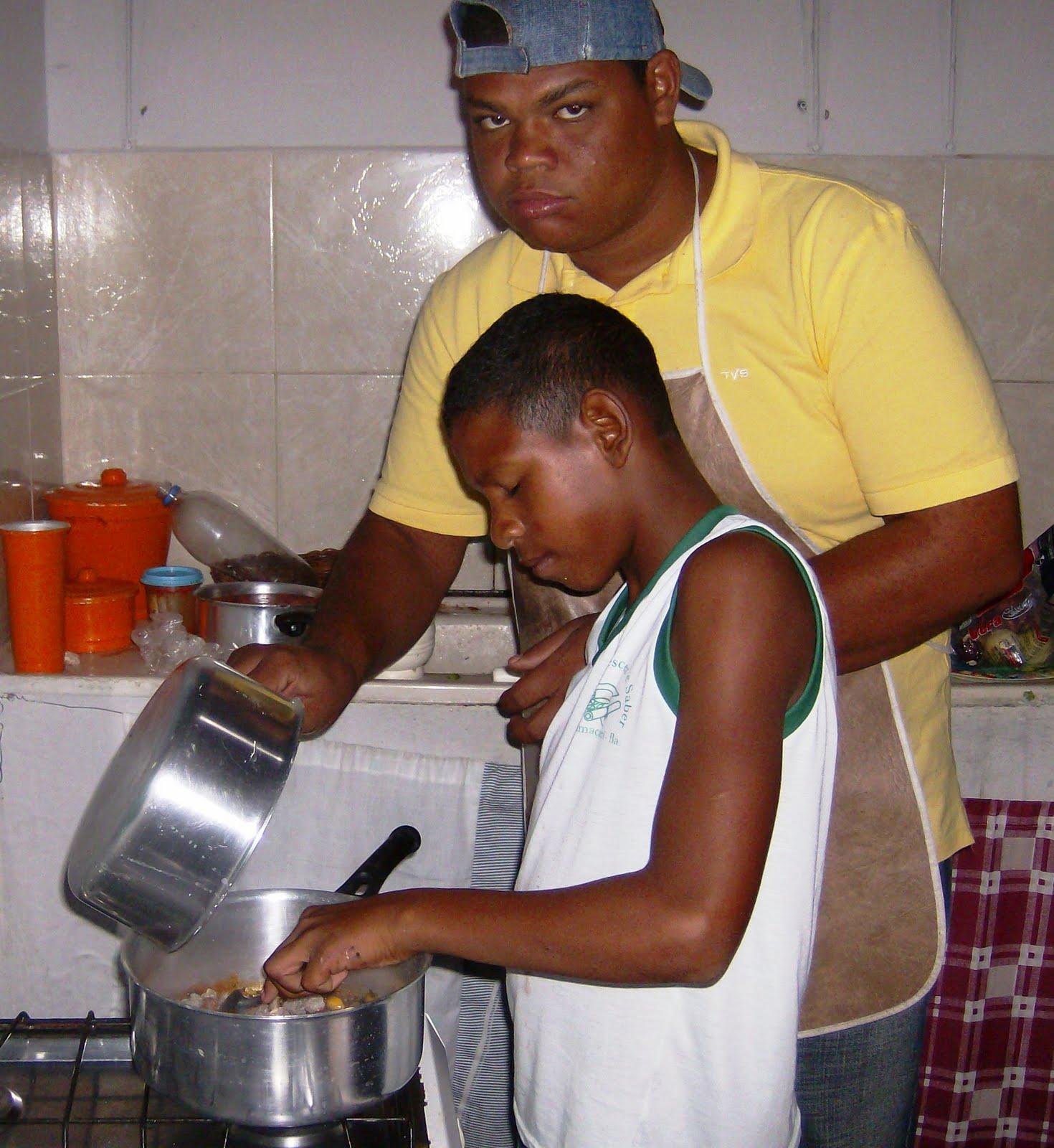 Nieuws uit bahia padre francisco verhelle samen koken for Beeldkoken