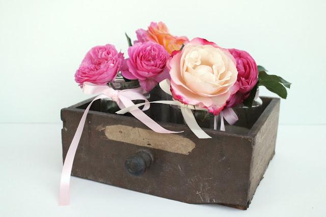 DIY Upcycling Vasen Schublade 1000 gute Gruende