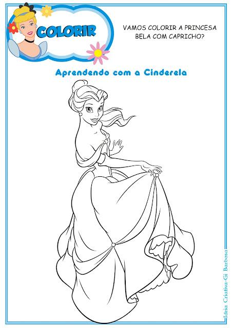 Atividades Educativas das Princesas Disney para Imprimir Grátis