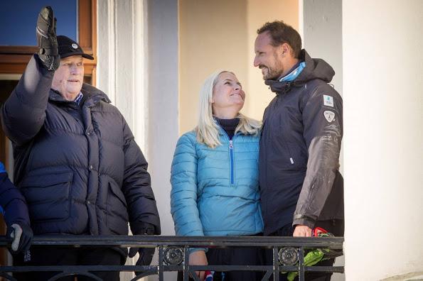 More Norwegian Royals 25th Anniversary Celebrations, Winter Games