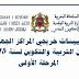 تعيينات خريجي المراكز الجهوية لمهن التربية والتكوين لسنة 2015: المرحلة الأولى