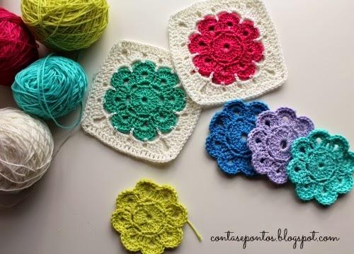 Maybelle flower - flor em crochet