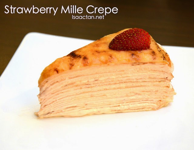 Strawberry Mille Crepe - RM10.90