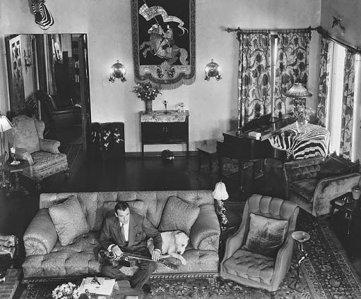 Gary Cooper at home 1933.