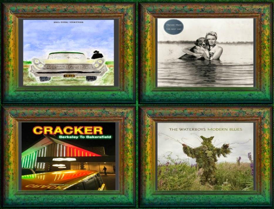 Novedades discográficas próximas - Neil Young, Thurston Moore, Cracker y The Waterboys