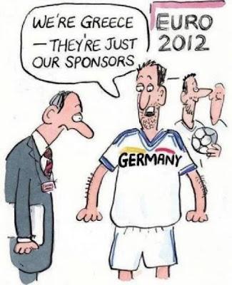Deutschland ist Griechenland Trikot Sponsor