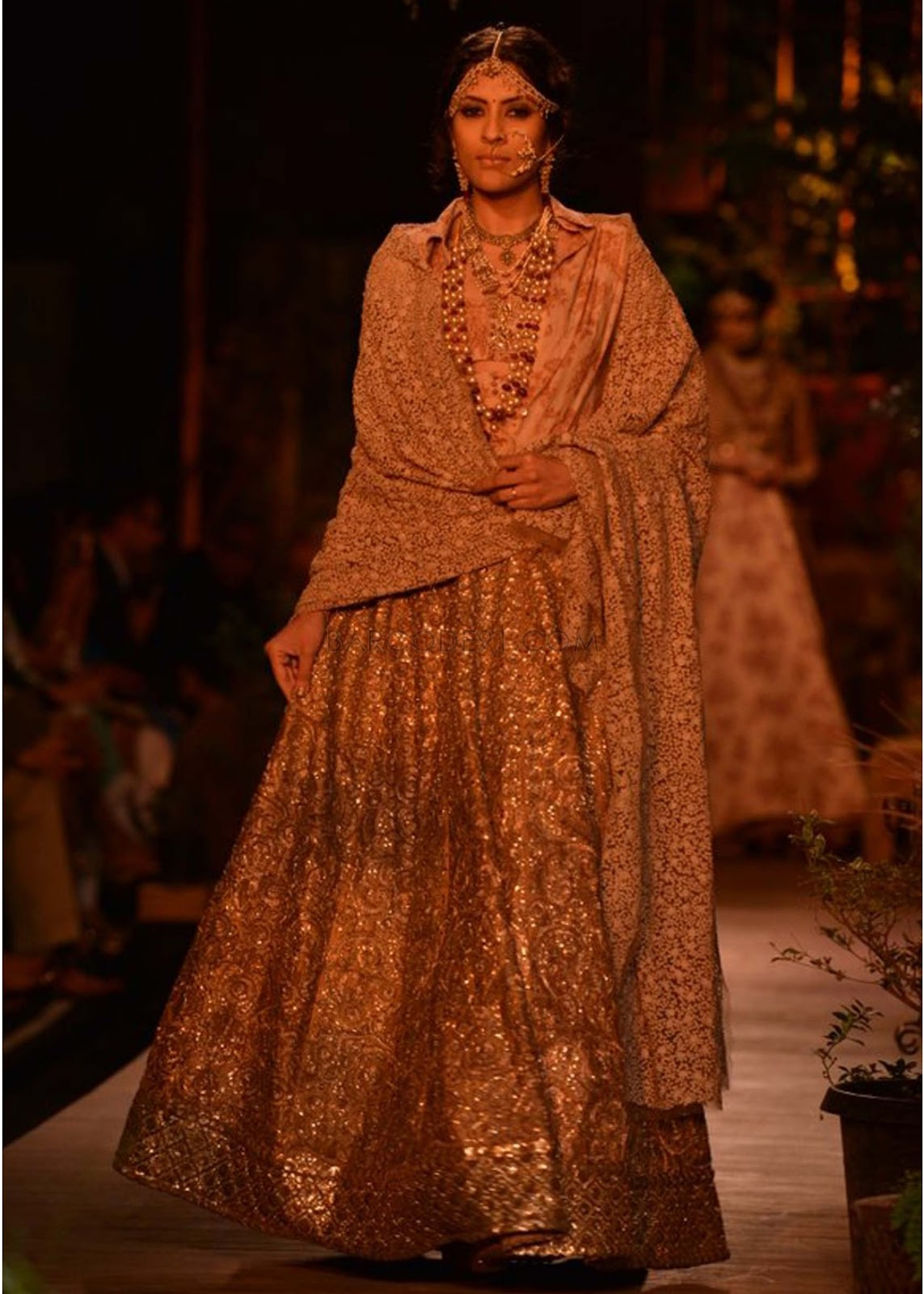 Sabyasachi Collection at PCJ Delhi Couture Week 2013 ... Sabyasachi Lakme Fashion Week 2013