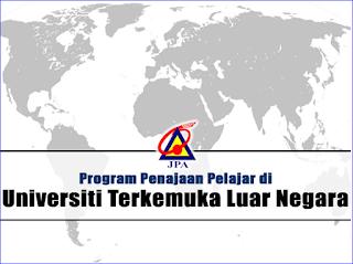Tawaran Penajaan Biasiswa JPA