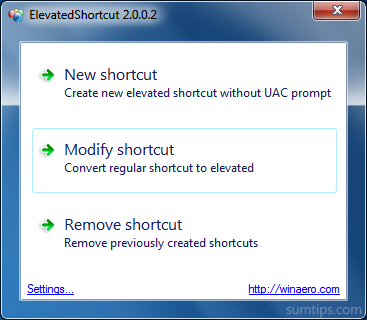 Selectively Run Programs without UAC Prompt on Windows 7 & 8