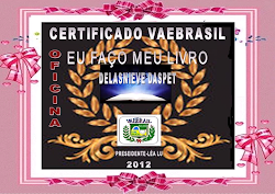 CERTIFICADO DA OFICINA EU FAO O MEU LIVRO