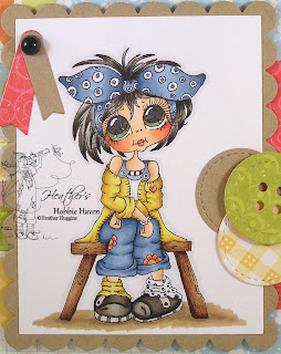 Heather's Hobbie Haven - Cutie Pie Olivie Card Kit